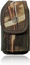 Premium Military Grade FLIP Phone Case, Outdoor Camo Tactical Pouch Holster Flip Phone Belt Case Fits Kyocera Cadence, Dura XTP, Dura XV E4520 Dura XE, Doro 7050 & Most FLIP Phones & Insulin Pumps