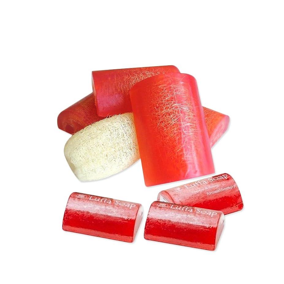 告発者手段捕虜Soap Net Nature Handmade AromaPapaya Honey Scrub Herbal Natural Relaxing After Work & Sport A luffa middle the soap Made from herbs