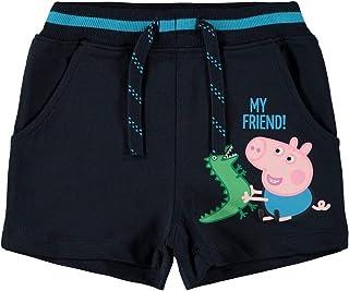 NAME IT Peppa Pig - Pantalones cortos de verano para niño (algodón)