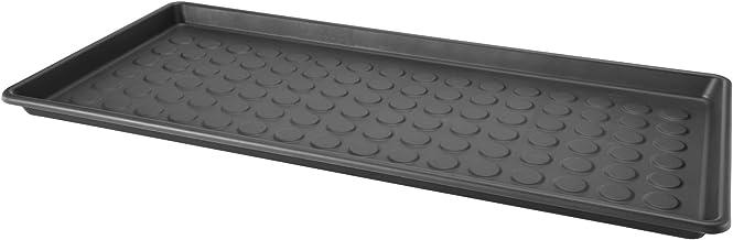 BAGGMUCK Shoe mat, in/outdoor, grey, 71x35 cm, 71x35cm