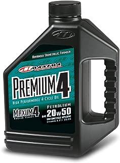 Maxima (359128) Premium4 20W-50 Motorcycle Engine Oil - 1 Gallon Jug