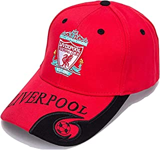 World Football Club Embroidered Baseball Cap Soccer Team Logo Adjustable Cap for Soccer Fans