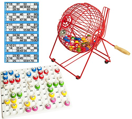 Masters Home Bingo Set - Bingo Cage, 90 Balls, Tickets and Tray