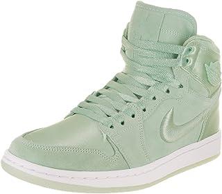 4944e4bbca7 Jordan Nike Women's Air 1 Retro High SOH Mint Foam/White Metallic Gold  Casual Shoe