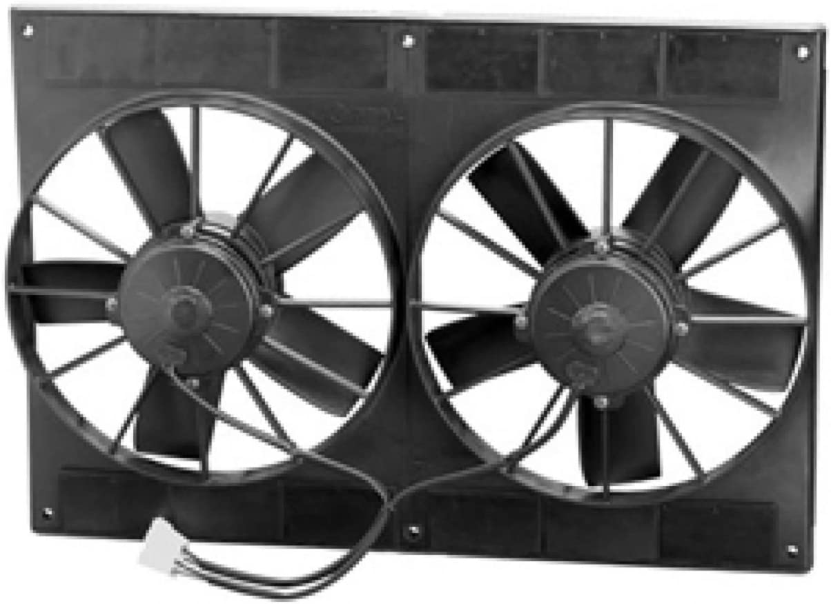 Spal 55% 2021 spring and summer new OFF 30102052 Puller Fan 11In Dual Performance High ; For Use W