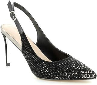 76cfe7961a5 MENBUR 09357 - Zapatos de Mujer de Ceremonia de Noche Negro con Brillantes