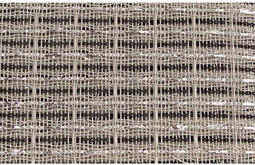 Grill Cloth Black White Silver 59 Wide product image