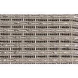 Grill Cloth - Black/White/Silver, 59' Wide