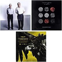 Twenty One Pilots: Studio Album LP Vinyl Record Collection (Vessel / Blurryface / Trench) - Includes Digital Album Downloads + Limited Edition Clear Vinyl