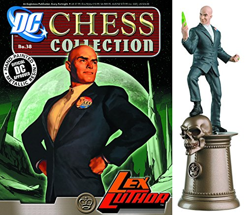 dc comics Chess Figurine Collection Nº 38 Lex Luthor