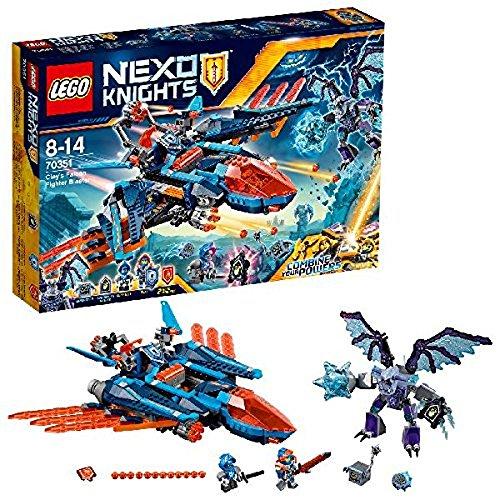 LEGO - 70351 - Nexo Knights - Jeu de Construction -Le faucon de combat de Clay