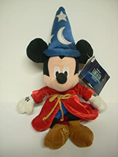 "Disney ""Fantasia"" Mickey Mouse Sorcerer 8"" Plush"