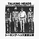 Head Legend Heads Tour Music Talking Band Japan I 80S - Trendy Poster for Wall Art Home Decor Room