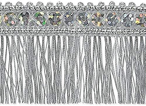 10-Yard Expo International Luisa Bead Fringe Trim Embellishment Coral