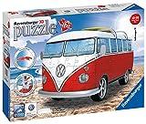Ravensburger 3D Puzzle Volkswagen T1 - 3D Puzzle für Erwachsene und Kinder ab 10 Jahren