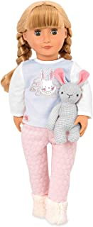 Our Generation Doll Jovie With Pj's & Bunny Jovie