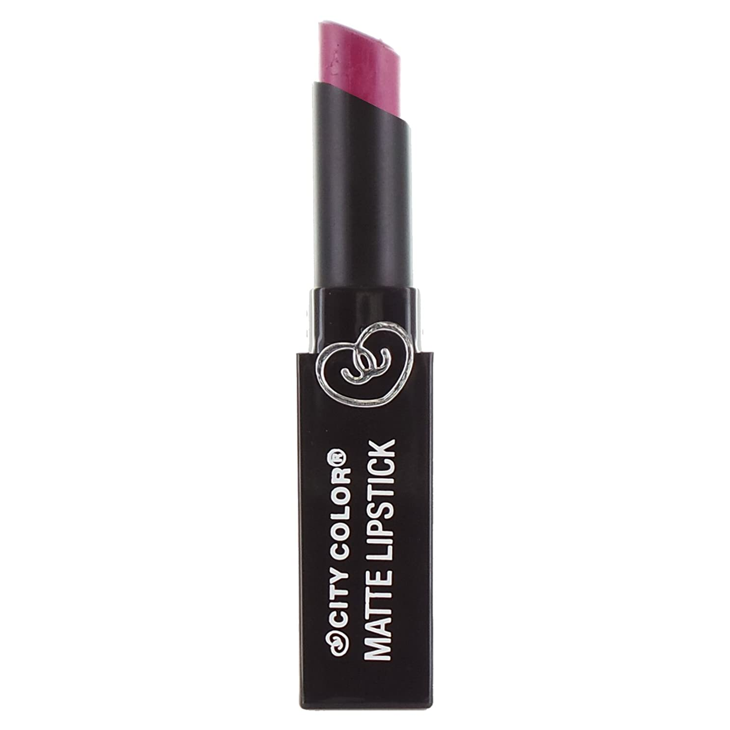 識別エレクトロニック返済(3 Pack) CITY COLOR Matte Lipstick L0050 - Rebel (並行輸入品)