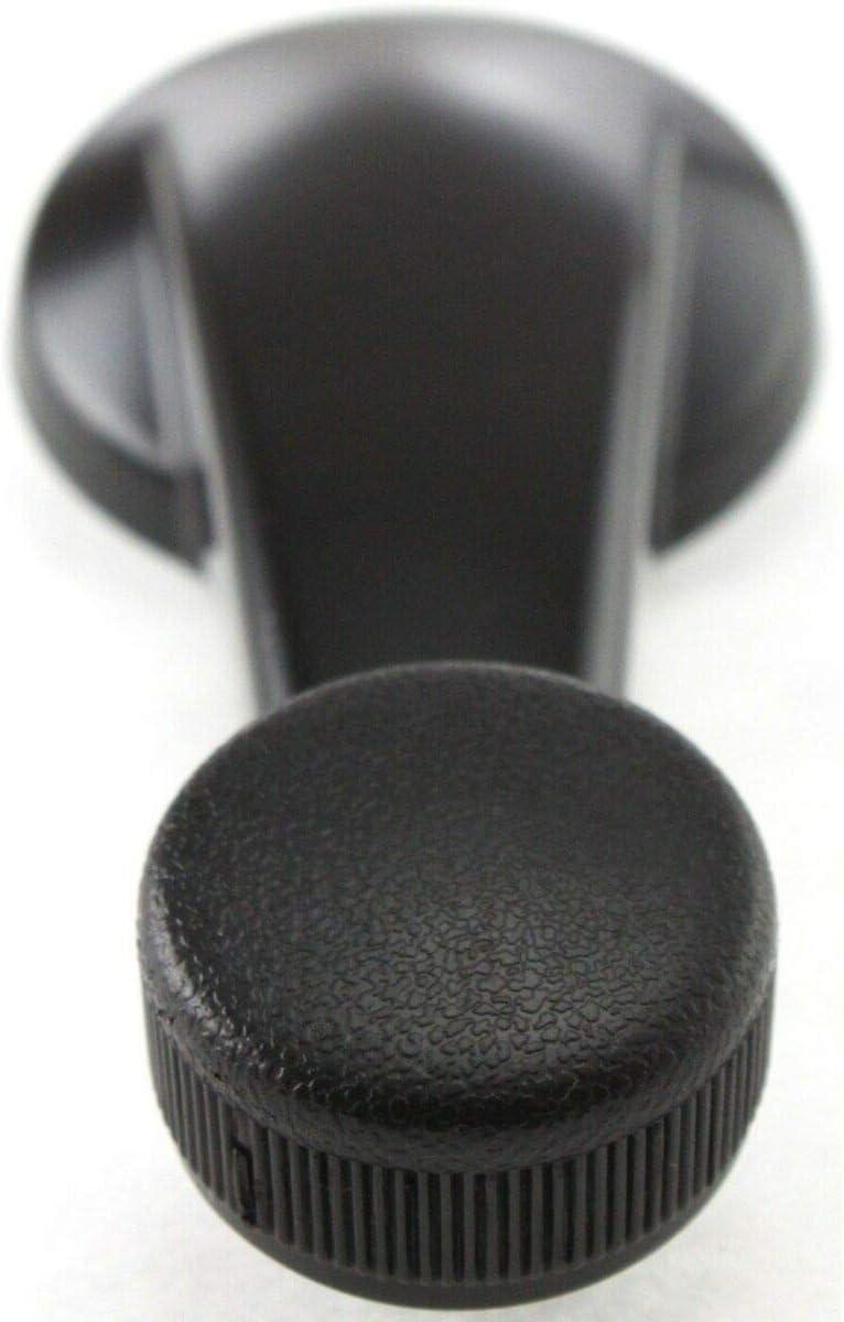 Manual Window Crank Handle Black Driver Gorgeous RH Each Com Passenger Same day shipping LH