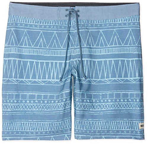 Reef_Apparel Reef Tribe Short, Turquoise (Light Blue Lib), XX-Large (Taille Fabricant: 38) Homme