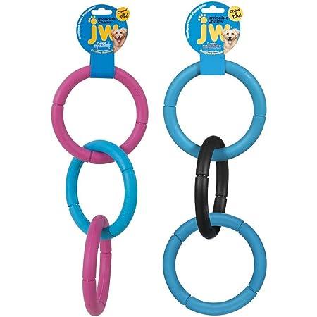 "JW Pet Company 43135 17"" Large JW Invincible Chains Assorted Colors"