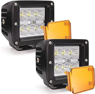 Led Light Pod, Ourbest 3 Inch Light Bar Led Cube Lights 24W Flood Off Road