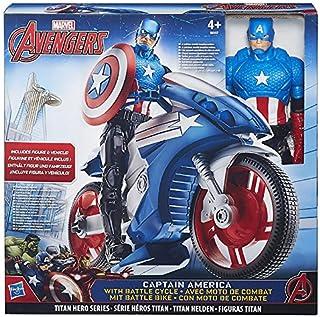 Avengers - Figura Titan con vehículo, surtido: modelos aleatorios