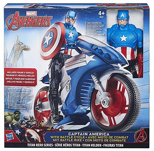 Avengers – Figurine Titan avec véhicule, Assortiment : modèles aléatoires