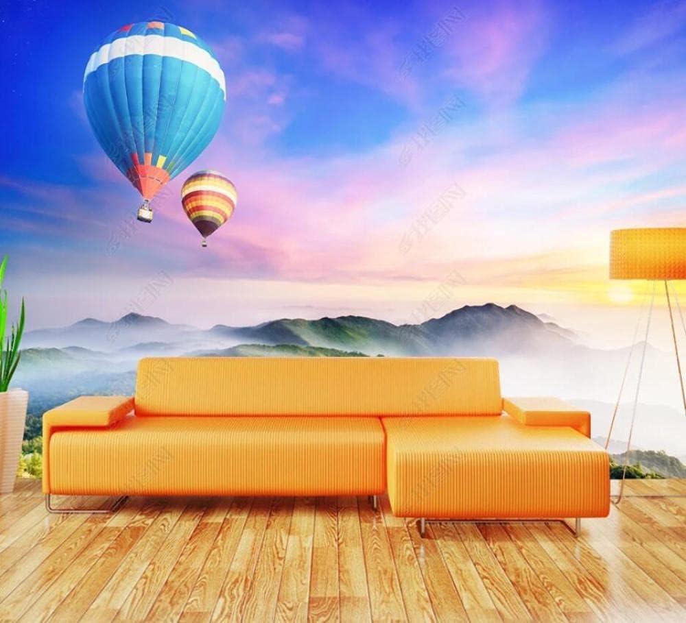 Max 78% OFF Wall Murals Wallpaper Hot Air Range Mountain Balloon Max 85% OFF Peaks Wal