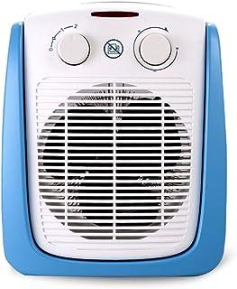 XF Calefactores y radiadores halógenos Calentador - Calentador de plástico Azul a Prueba de Agua para el hogar de un pequeño Cuarto de baño Que Ahorra energía (247mmX180mmX322mm) Climatización y Cal