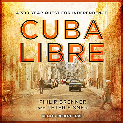 Cuba Libre audiobook cover art