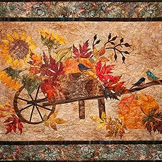 Laundry Basket Quilts, Harvest Pumpkin - Raw Edge Patterns
