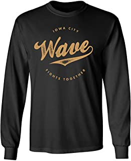 SHEKI APPAREL Iowa Wave - City Fights Together Mens Long Sleeve T-Shirt
