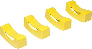 Ernst Manufacturing Jack Stand Covers, Set of 4, Yellow