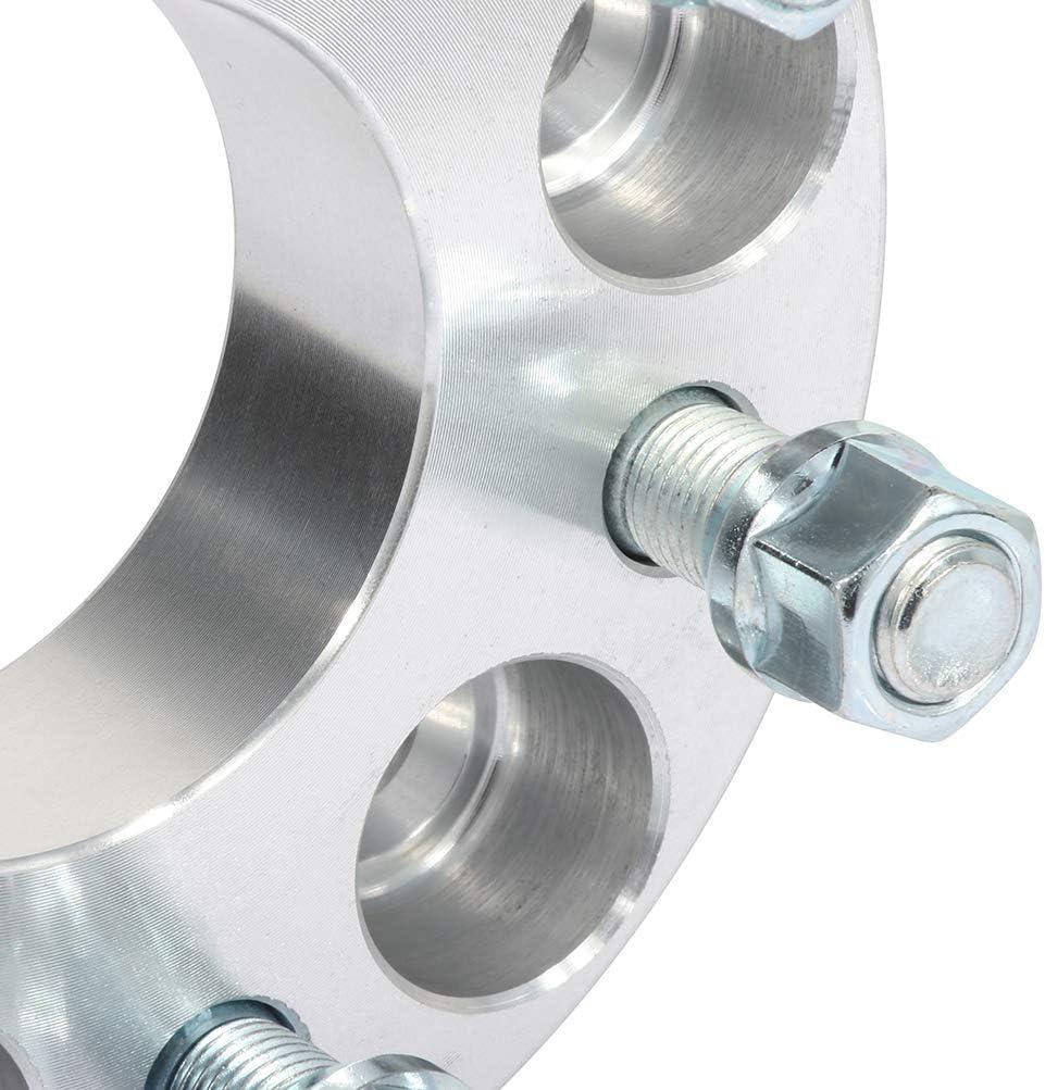 CTCAUTO 2PCS 6x120 1.25 inch Wheel Spacers 6 Lug 6x120mm to 6x120mm 14x1.5 studs fit for C adillac SRX C hevrolet Colorado G MC Canyon