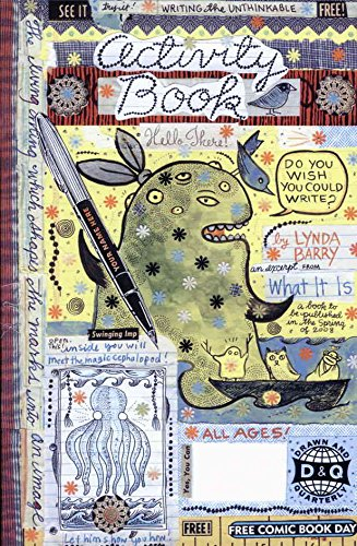 Lynda Barry Free Comic Book Day Activity Book Special #2007 FN ; Drawn and Quarterly comic book