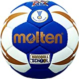 Molten Goalchaball Ballon pour Enfants 0 Blau/Weiß/Gold