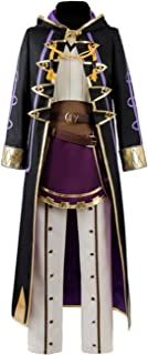 Unisex Fire Emblem Awakening Avatar Reflet Robin Daraen Hero Cosplay Costume Full Set Cloak Suit