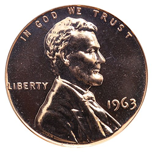 1963 Gem Proof Lincoln Memorial Cent Penny Proof US Mint