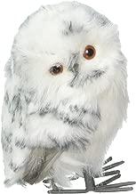 Kurt Adler White & Black Owl Ornament 2/asstd
