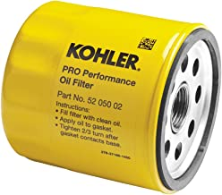 KOHLER 52 050 02-S Engine Oil Filter Extra Capacity For CH11 - CH15, CV11 - CV22, M18 - M20, MV16 - MV20 And K582