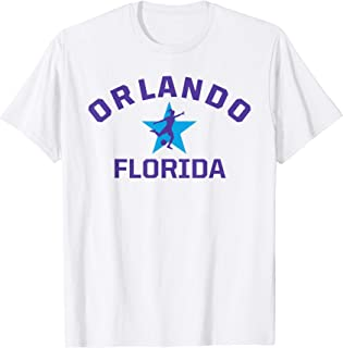 Orlando Soccer Jersey Womens Florida Gift Pride Top T-Shirt