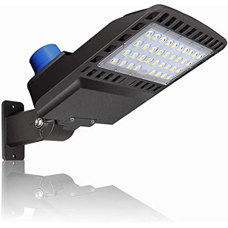 300W LED Parking Lot Lights 36000LM Natural White 5000K IP65 Waterproof Outdoor LED Lights Dusk to Dawn Photocell
