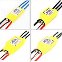 Hockus Accessories Mystery Cloud 10A/20A/30A/40A/50A/60A/70A/80A/100A/200A Brushless ESC with BEC RC Speed Controller for RC Airplane Helicopter - (Color: 60A (BEC NO))