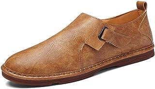 Conduite de Mocassins for Hommes Chaussures de Sport Tirez sur Style Crochet & LoopDecor en Microfibre en Cuir Super Doux ...