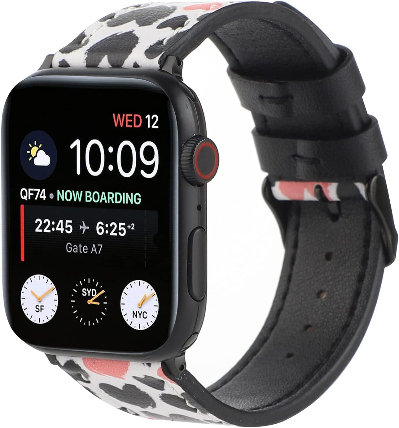 Leather Band Compatible Max 61% OFF with Apple Bands 42mm Ranking TOP7 Watch 44mm