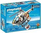 PLAYMOBIL Guardacostas - City Action Helicóptero de Extinción de Incendios Juguetes y Juegos 5542
