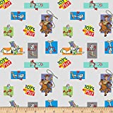 Springs Textiles Disney Toy Story 4 Toys At Play With Forky Multi Quilt Fabric By The Yard