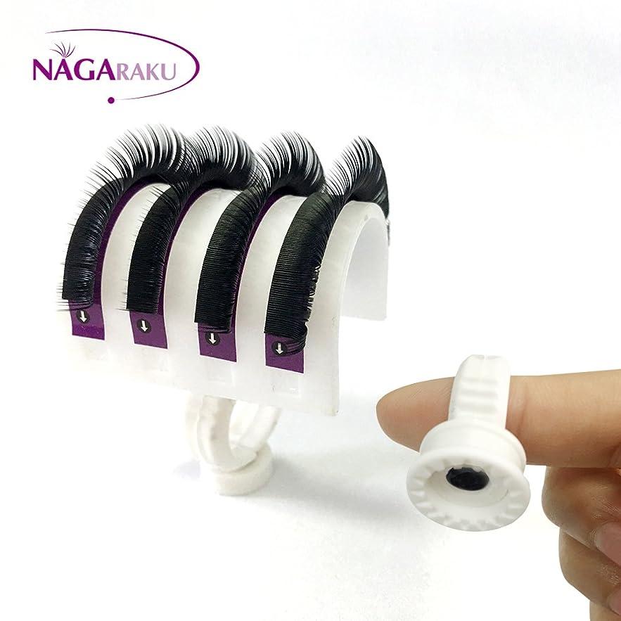 プラスチックあまりにも同封するNAGARAKU まつげエクステホルダー,シート エクステ用リング,エクステリング,リングホルダー,アイラッシュリング