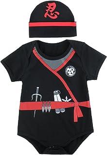 MOMBEBE COSLAND Disfraz de San Patricio para Beb/é Ni/ños Conjunto de Body 4 Piezas 0-18 Meses