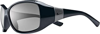 Nike Eyewear Women's Minx EV0579-001 Rectangular Sunglasses, Black, 59 mm